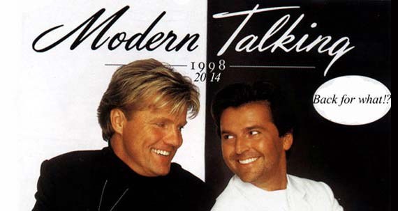 modern talking come back